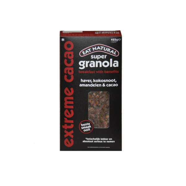 Eat Natural granola extra cacao