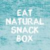 De EAT NATURAL SNACKBOX met 30 repen in 10 verschillende smaken
