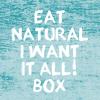 De EAT NATURAL I WANT IT ALL BOX