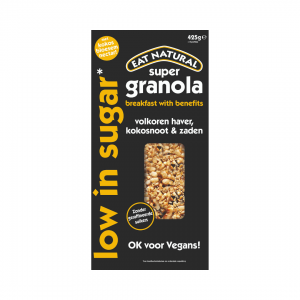 Eat Natural granola low in sugar