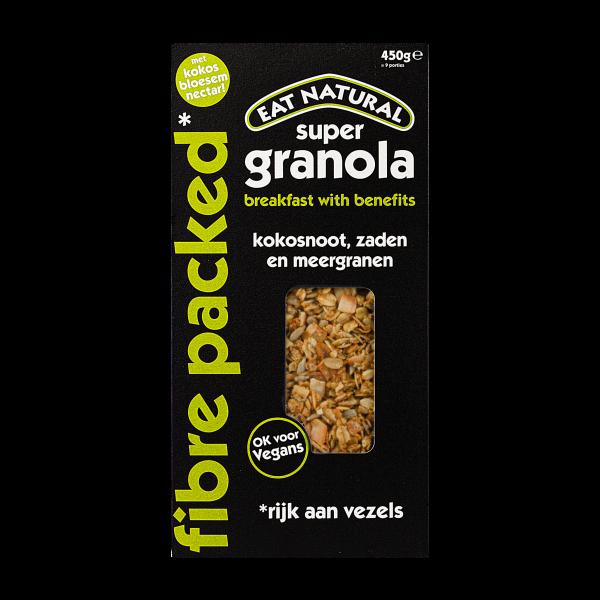 Eat Natural granola fibre packed