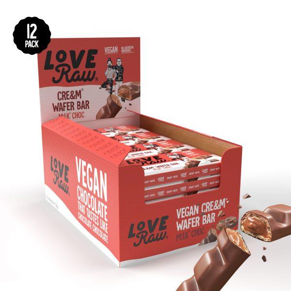 LoveRAw wafer milk